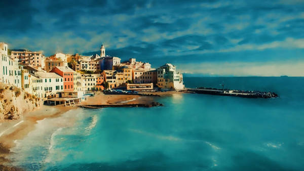 Painting - Sunset Cinque Terre by Douglas MooreZart