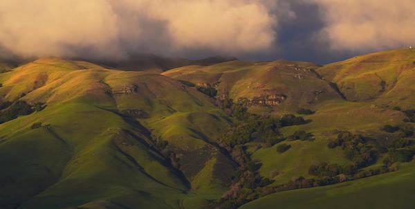 Photograph - Sunset Cloud Break by Frank Wilson