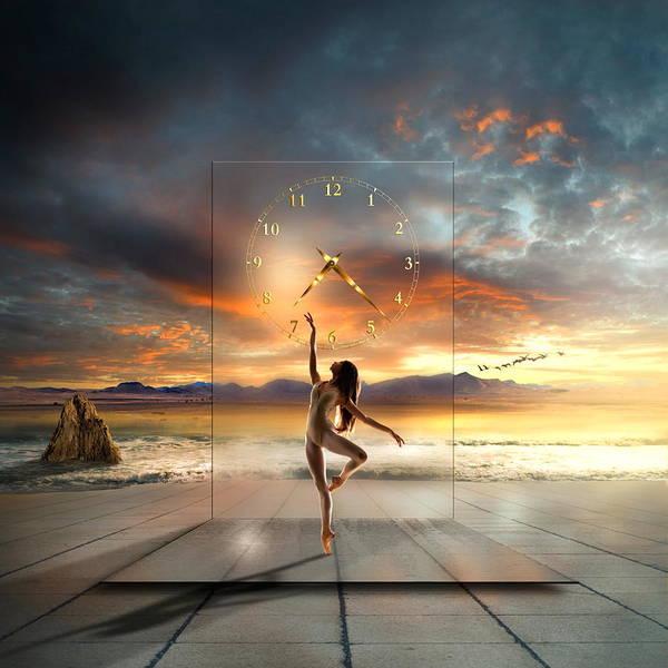 Dove Digital Art - Sunset Dancing by Franziskus Pfleghart