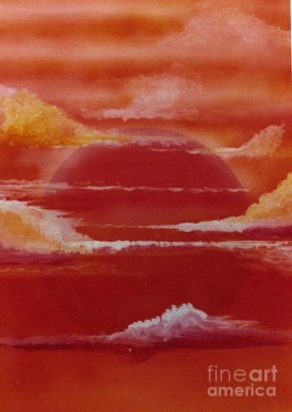 Painting - Sunset by David Neace