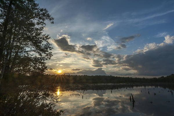 Photograph - Sunset Double Trouble State Park Nj by Terry DeLuco