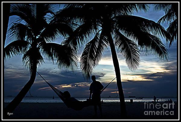 Paisaje Photograph - Sunset En El Caribe by Agus Aldalur