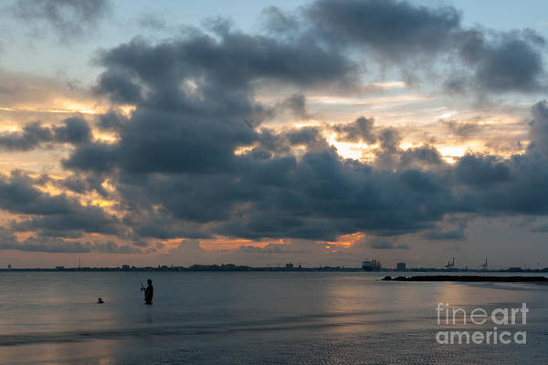 Photograph - Sunset Fishing by Dale Powell
