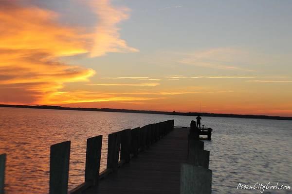 Photograph - Sunset Fishing by Robert Banach