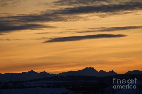 Photograph - Sunset From 567 by Ann E Robson