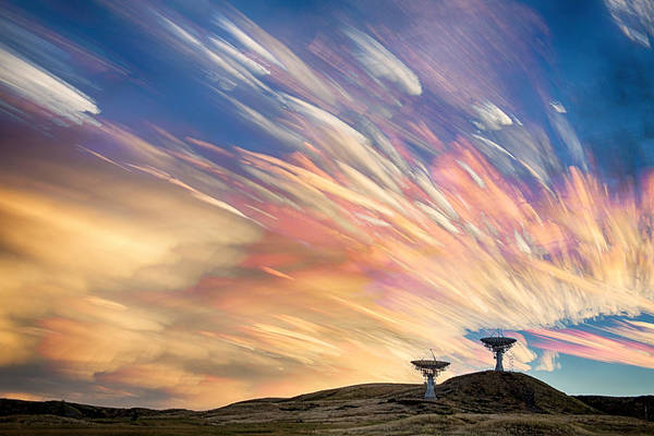 Photograph - Sunset From Another Planet  by James BO Insogna