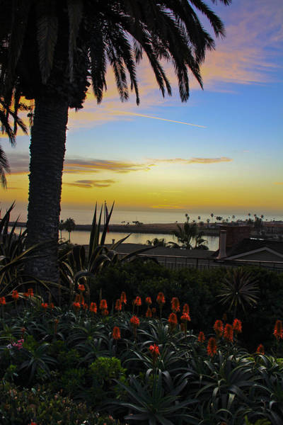 Roller Blades Photograph - Sunset From Corona Del Mar by Harald Vaagan