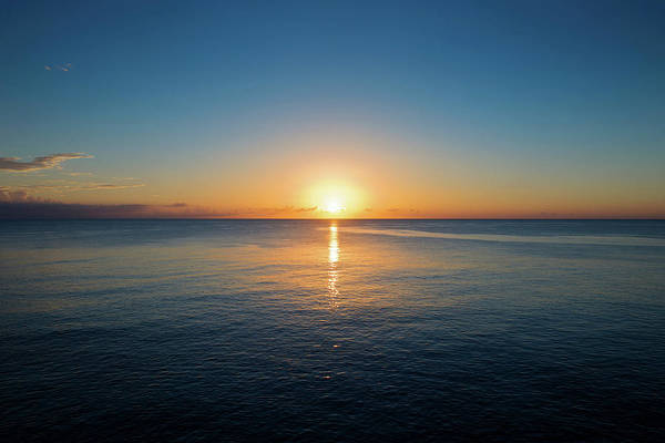 Jamaica Photograph - Sunset From The Cliffs, Negril, Jamaica by Cultura Exclusive/karen Fox