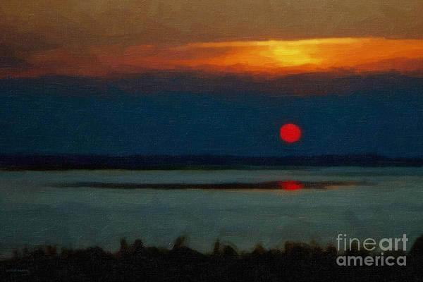 Photograph - Sunset by Gerlinde Keating - Galleria GK Keating Associates Inc