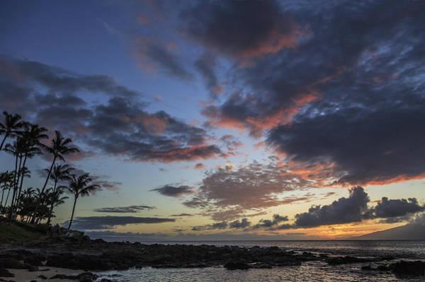 Napili Bay Photograph - Sunset Glory II by Charlie Osborn