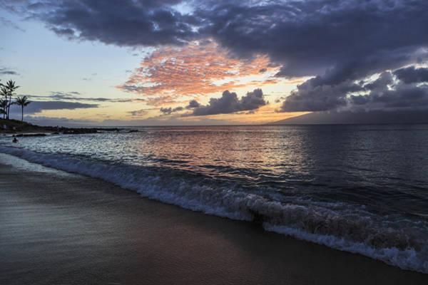Napili Bay Photograph - Sunset Glory IIi by Charlie Osborn