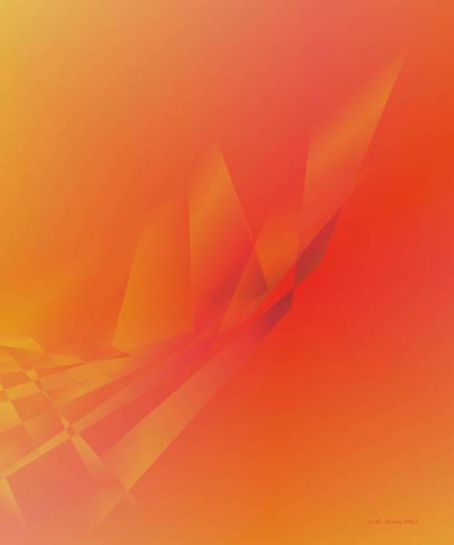 Digital Art - Sunset Glow by Judi Suni Hall