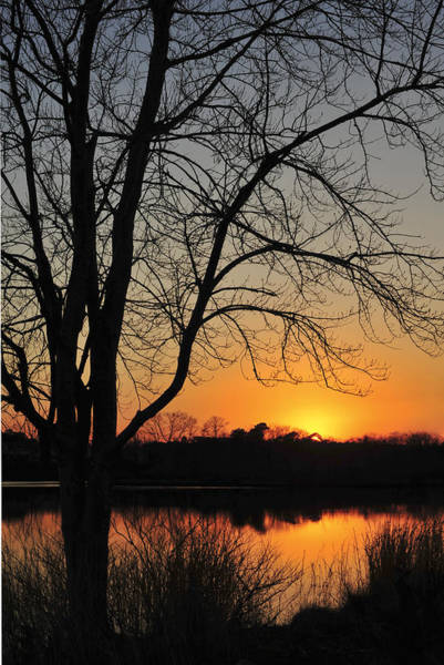 Photograph - Sunset Glow Toms River New Jersey by Terry DeLuco