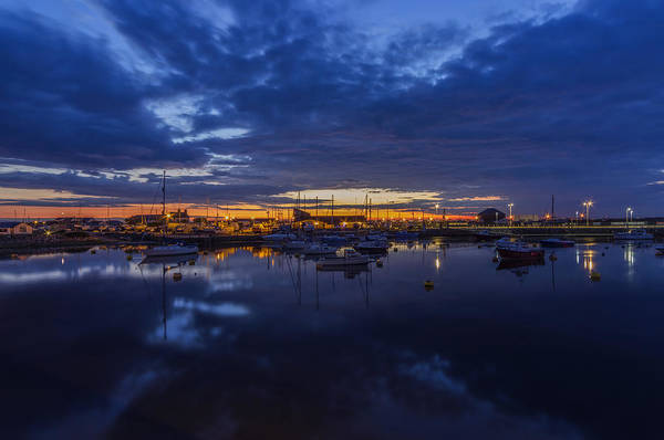 Photograph - Sunset Harbour by Ian Mitchell