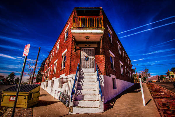 Downtown El Paso Photograph - Sunset Heights by Alex Briseno