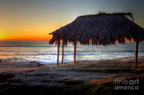Wall Art - Photograph - Sunset Hut by Kelly Wade