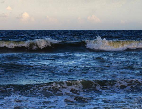 Atlantic Ocean Digital Art - Sunset Image At Myrtle Beach by Chris Flees