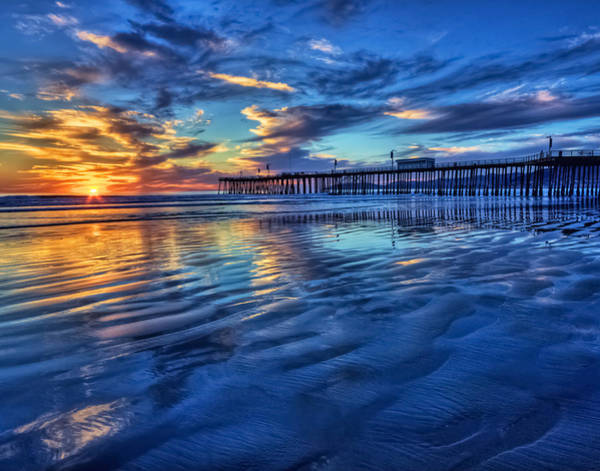 Photograph - Sunset In Blue by Beth Sargent