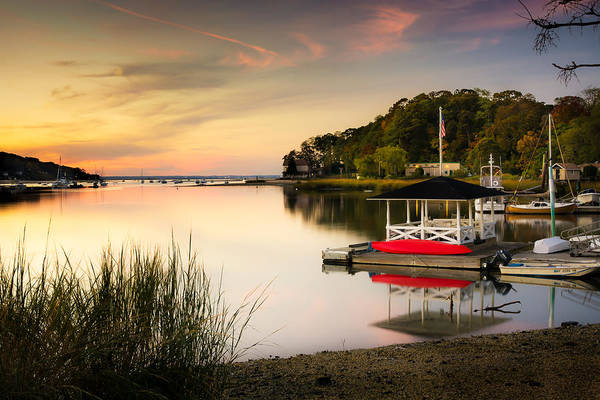 Photograph - Sunset In Centerport by Alissa Beth Photography