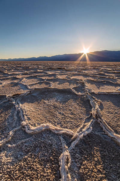 Photograph - Sunset In Death Valley  by Pierre Leclerc Photography