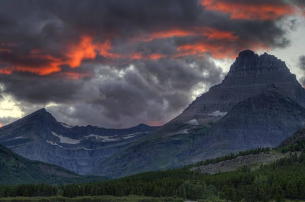 Photograph - Sunset In Glacier by Darlene Bushue
