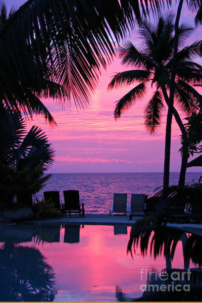 Wall Art - Photograph - Sunset In Paradise by Lars Ruecker