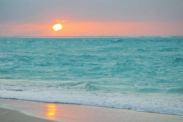 Wall Art - Photograph - Sunset In Paradise Over The Caribbean by Mike Theiss