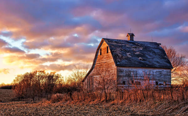 Nebraska Photograph - Sunset In The Country by Nikolyn McDonald