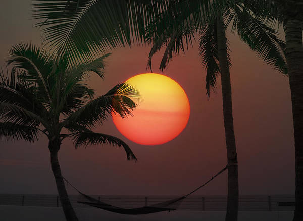 Photograph - Sunset In The Keys by Bill Cannon