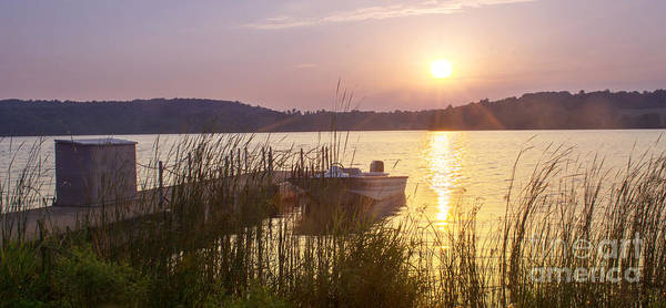 Photograph - Sunset In The Lake by Rima Biswas
