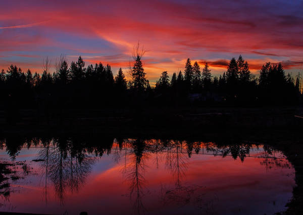 Wall Art - Photograph - Sunset In The Neighborhood by Angie Vogel