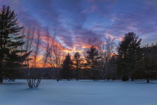 Photograph - Sunset In The Park by Bill Wakeley