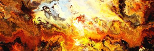 Wall Art - Digital Art - Sunset In The Place Of Power by Jury Onyxman