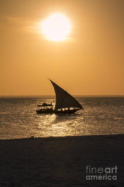 Photograph - Sunset In Zanzibar by Pier Giorgio Mariani