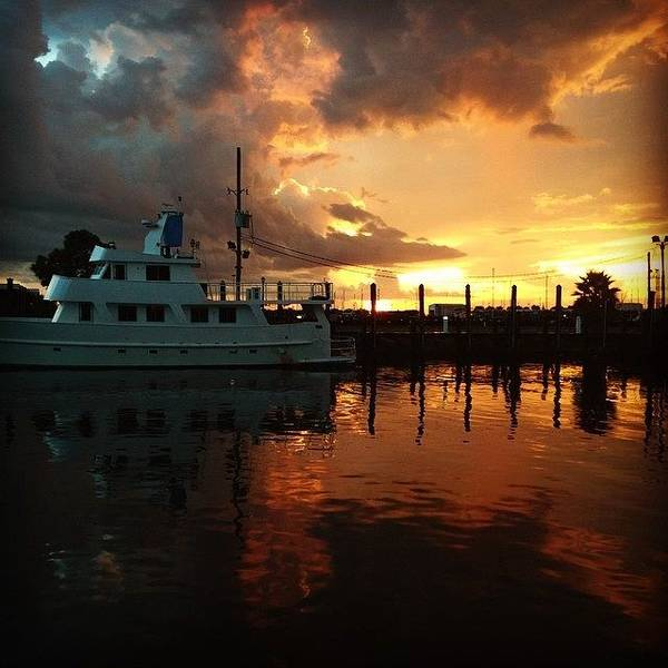 Wall Art - Photograph - Sunset Is Beautiful #iphone5 by Scott Pellegrin