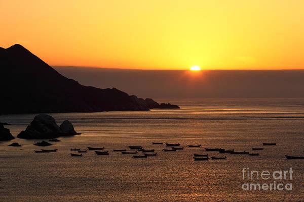 Photograph - Sunset On The Atacama Desert Coast by James Brunker