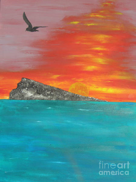 Wall Art - Painting - Sunset by Jeepee Aero