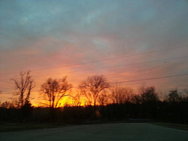 Moberly Photograph - Sunset by Kaelie Heather Moberly