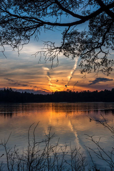 Lakehurst Photograph - Sunset Lake Horicon Lakehurst New Jersey by Terry DeLuco