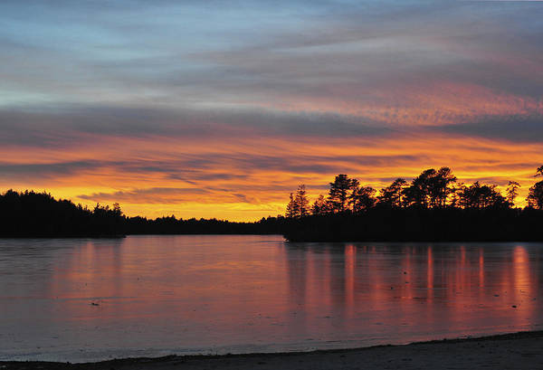 Photograph - Sunset Lake by Terry DeLuco