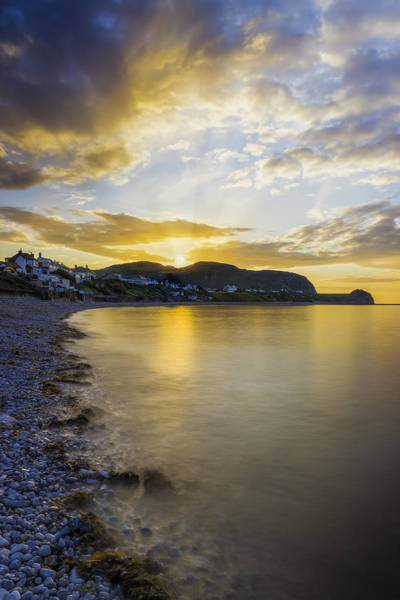 Photograph - Sunset Little Orme by Ian Mitchell