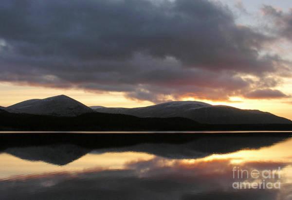 Photograph - Sunset - Loch Morlich - Scotland by Phil Banks