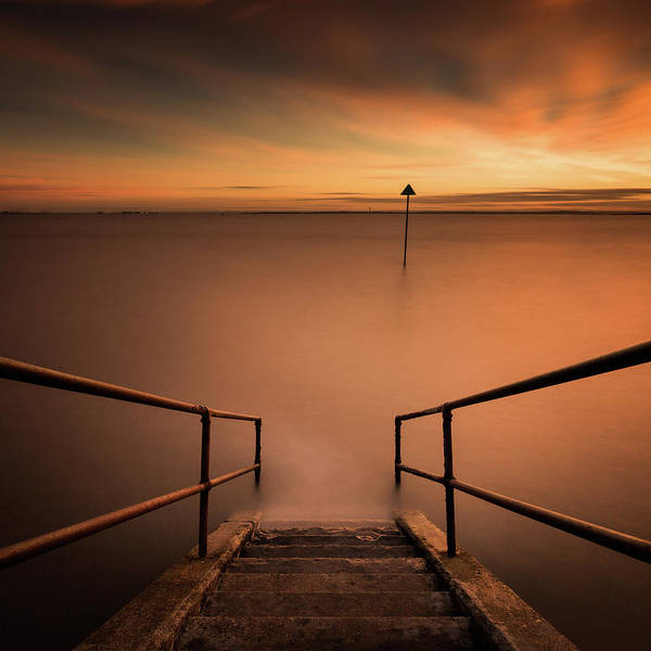 Southend Photograph - Sunset Long Exposure by Scott Baldock