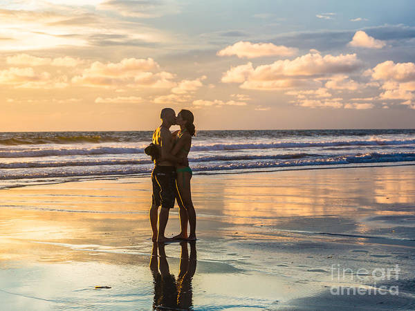 Photograph - Sunset Love In Bali by Didier Marti