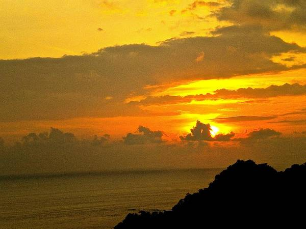 Photograph - Sunset Miquel Atonio Beach  Costa Rico by Joan Reese