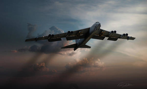 Boeing Digital Art - Sunset Mission by Peter Chilelli
