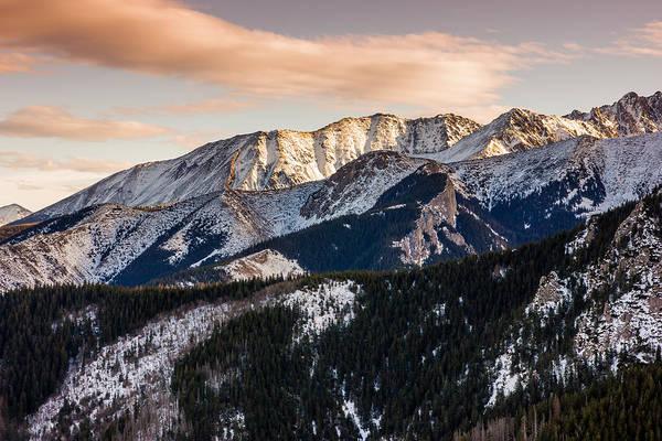 High Tatras Wall Art - Photograph - Sunset Mountains by Pati Photography