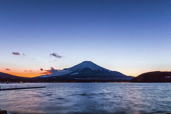 Japanese Culture Photograph - Sunset Mt. Fuji by Daisuke Tashiro