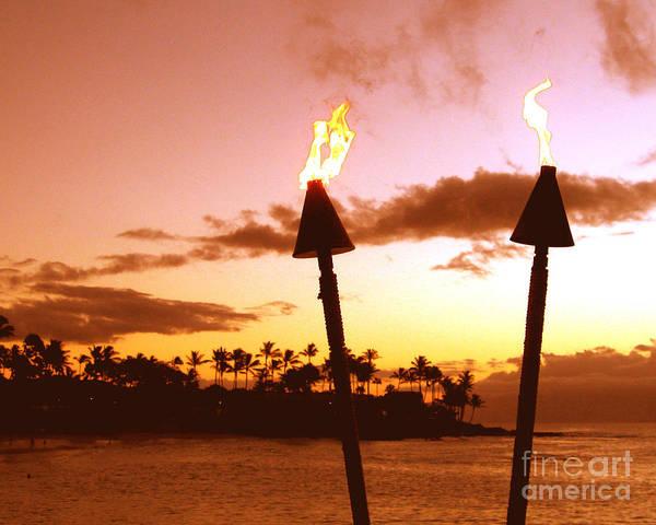 Napili Bay Photograph - Sunset Napili Maui Hawaii by Jerome Stumphauzer