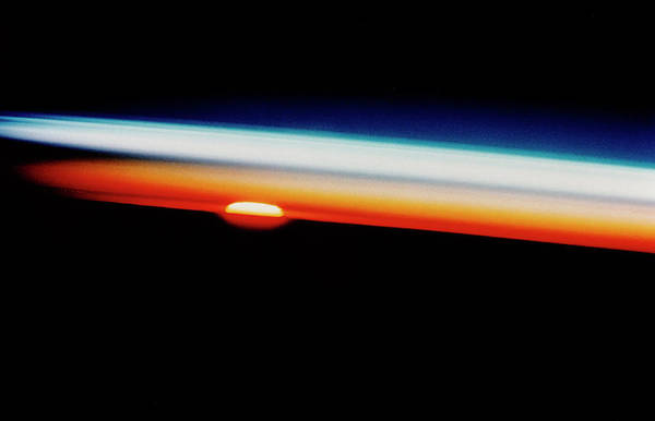 Wall Art - Photograph - Sunset by Nasa/science Photo Library